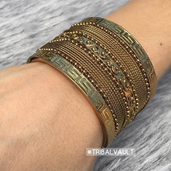 c601dfcdde6 Greek Dess Gold Wrist Cuff Bracelet. Jewelry Greek Dess Gold Wrist Cuff  Bracelet Poshmark -> Source. Couya Gold Color Cuff Bangle Bracelet For Women  Men ...